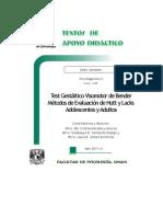 Test Gest+íltico Visomotor Bender M+®todos Evaluaci+¦n Hutt Lacks A y A - Heredia y Ancona - Santaella Hidalgo - Somarriba Rocha - TAD - 6-¦ sem