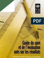 Guide Du Suivi Evaluation Axe Sur Les Resultats