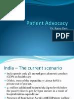 Patient Advocacy - Dr. Ratna Devi