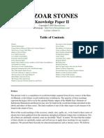 Knowledge paper II