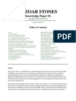 Knowledge paper IX