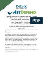 How to Configure IDP_IPS Rule