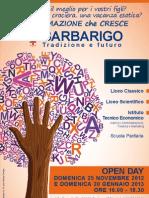 Open Day 2012-2013 locandina