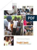Konbit Sante 2012 Annual Report