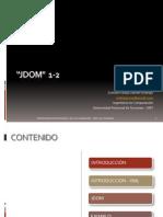 Seminario 4 - JDOM 1 - 2 - (Prototipo Web Telemedicina)- Darwin Rodrigo Zottola Pareja