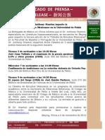 Cátedra Estudios Mexicanos en la Universidad de Pekín