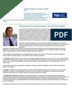 Aplicación de Modelos de Simulación a procesos logísticos