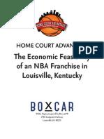 Home court advantage - economic feasibility study