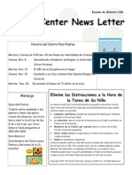 november parent letter spanish