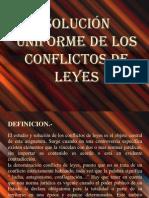 Conflicto de Leyes Dip