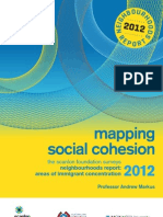 Mapping Social Cohesion Neighbourhoods Report 2012