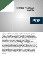 HORACIO Y GERMÁN GARCÍA