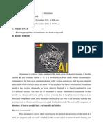 Laporan Aluminium Ute