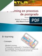 B-Learning en Procesos de Postgrado.mner