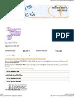 Democracy for Vietnam » Signatures _ Chữ Ký 06001-08000