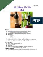 Wine Fact Sheet 1
