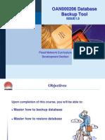 OAN000206 Database Backup Tool ISSUE1.0