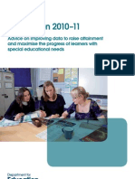 SEN Progression Guidance 2010-2011