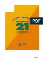 Agenda 21 Un Sustainable Development Full Online Document 15 Nov 2012