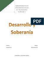 Desarrollo y Soberania