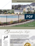 Jerith - Aluminum Fence Residential Brochure