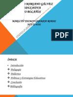 Fundamentacion de la Tecnología Educativa