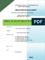 Plan de Negocios Truchas Arco Iris