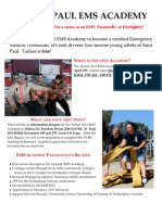 2013 EMS Academy Winter Flyer