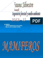 EXPOSICION MAMIFEROS