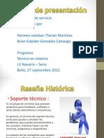 Portafolio de Servicio (Hermen Theran, Brian Gonzales )