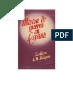 Hayes, Carlton J. - Misión de guerra en España