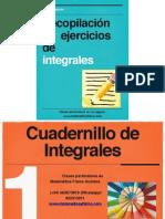 Cuadernillo con ejercicios para practicar Integrales