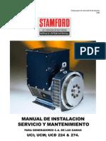Manual de Operacion y Mantenimiento de Generador Stanford