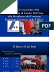 Programma elettorale Del Naia - Elezioni Fidal 2012