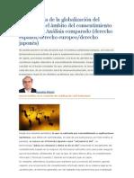 La presencia de la globalización del derecho en el ámbito del consentimiento informado
