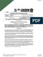 Acuerdo Lineamientos de Control Interno Mexico