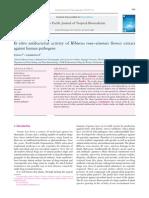 5. APJTB Invitro Antibacterial Hibiscus