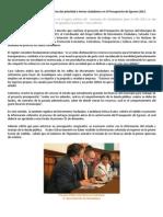 Presupuesto de Egresos 2013 para Ciudadanos