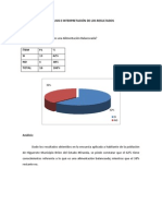 Analisis e Interpretacion de Los Resultados Genesis