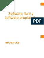 Software Libre y Software Propietario