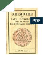 Grimório do Papa Honorius - Final