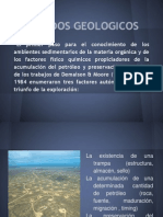 metodos geologicos y geoquimicos