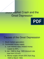 Stock Market Crash and the Great Depression