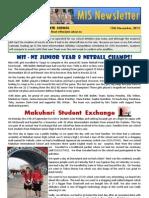 Newsletter 15.11.12