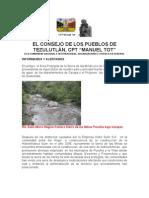 EL CONSEJO DE LOS PUEBLOS DE TEZULUTLÀN