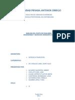 Trabajo de Investigacion de Gerencia Financiera-Punto de Equilibrio