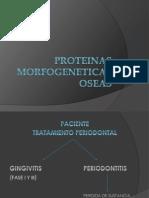 PROTEINAS MORFOGENETICAS