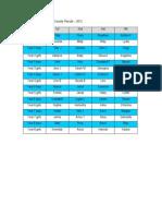 Koputaroa School Cross Country Results
