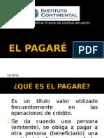 EL PAGARÉ EXPOSICIÓN...