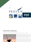 Proven Energy Wind Turbines